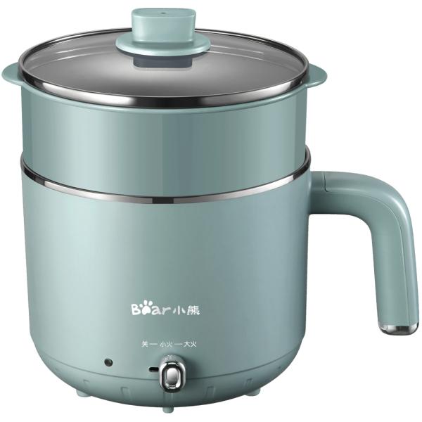Nồi nấu điện Bear ,hấp lẩu đa năng,1.2 Lít,  Bảo Hành 18 Tháng DRG-D12M5
