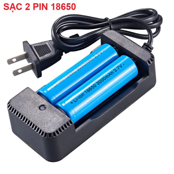 Giá Bộ sạc pin 3,7V đa năng sạc pin 18650, 26650, 22650....  Sạc nhanh sử dụng nguồn 100v-240v