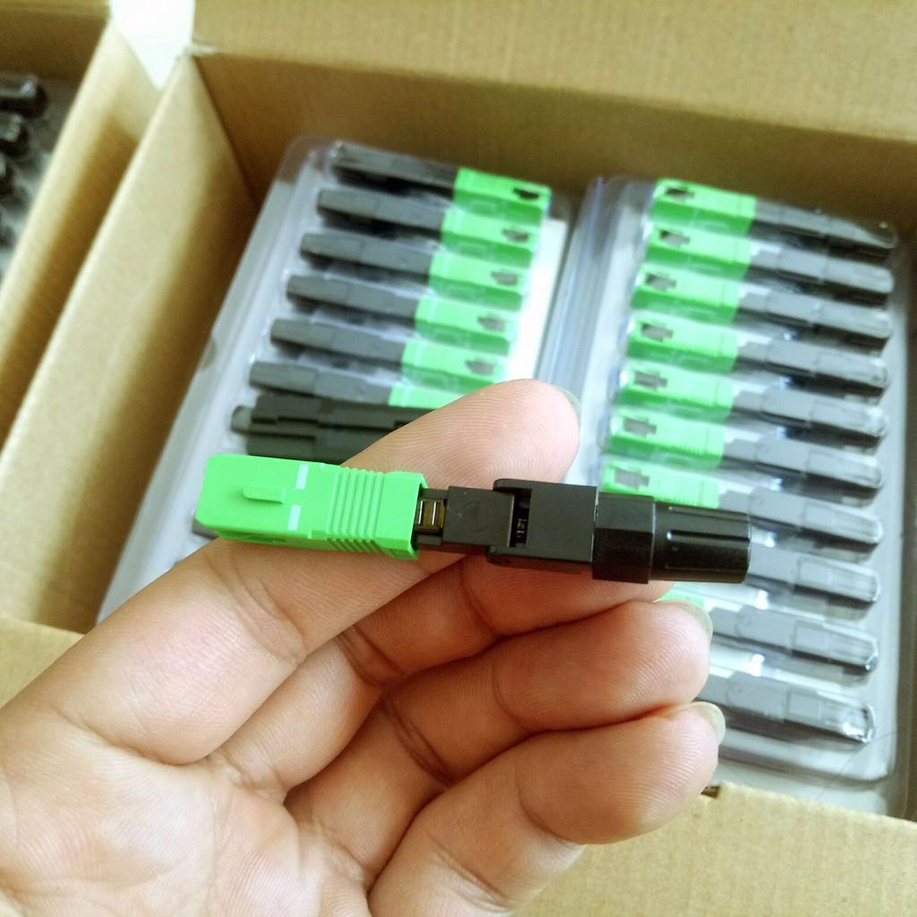 Giá Combo 10 đầu Fast connector loại tốt suy hao cực ít