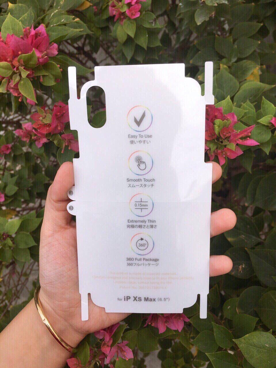 [HCM]Dán PPF 7 sắc cầu vòng 2021 Chống xước & đặc biệt TỰ PHỤC HỒI VẾT XƯỚC iphone 787p8pXXS 11 11 Pro 11 Pro Max 12 Mini 12 12 Pro 12 Pro Max.
