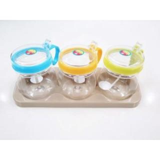 Bộ 3 hộp hũ đựng gia vị nắp bật tiện dụng hàng nhựa việt nhật, cam kết hàng đúng mô tả, chất lượng đảm bảo an toàn đến sức khỏe người sử dụng thumbnail