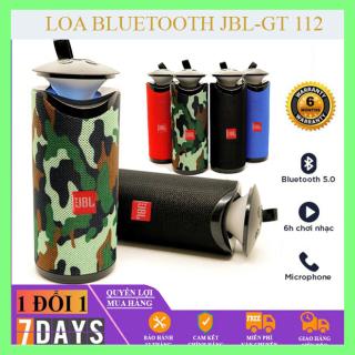 [JBL GT112-CHẤT ÂM CỰC HAY]Loa Bluetooth không dây, Loa Bluetooth cầm tay, loa nghe nhạc Bloetooth-Siêu nhỏ, gọn, chất lượng âm thanh vượt trội. KHUYẾN MẠI HẤP DẪN, BẢO HÀNH 1 ĐỔI 1 TRONG 7 NGÀY thumbnail