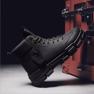 Giày bốt nam - giày sneaker nam cổ cao - bốt cao bồi nam HOT 2021 SP - 396 thumbnail
