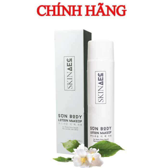 Kem chống nắng dưỡng trắng da 2 trong 1 Skin AEC 150ml