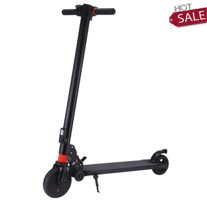 Phân phối Xe trượt scooter- xe điện scooter - Xe trượt điện- xe scooter điện cao cấp-Xe trượt Scooter điện xếp gọn S8 không yên , bản 6km tải 100kg
