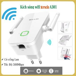 BẢO HÀNH 12 THÁNG-Bộ Mở Rộng Sóng Wifi Tenda A301 Tốc Độ 300Mbps có cổng lan thumbnail