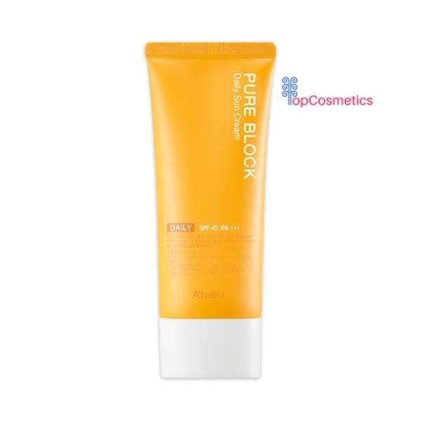Kem chống nắng Apieu Pure Block Nature Sun Cream SPF45 PA+++ 50ml
