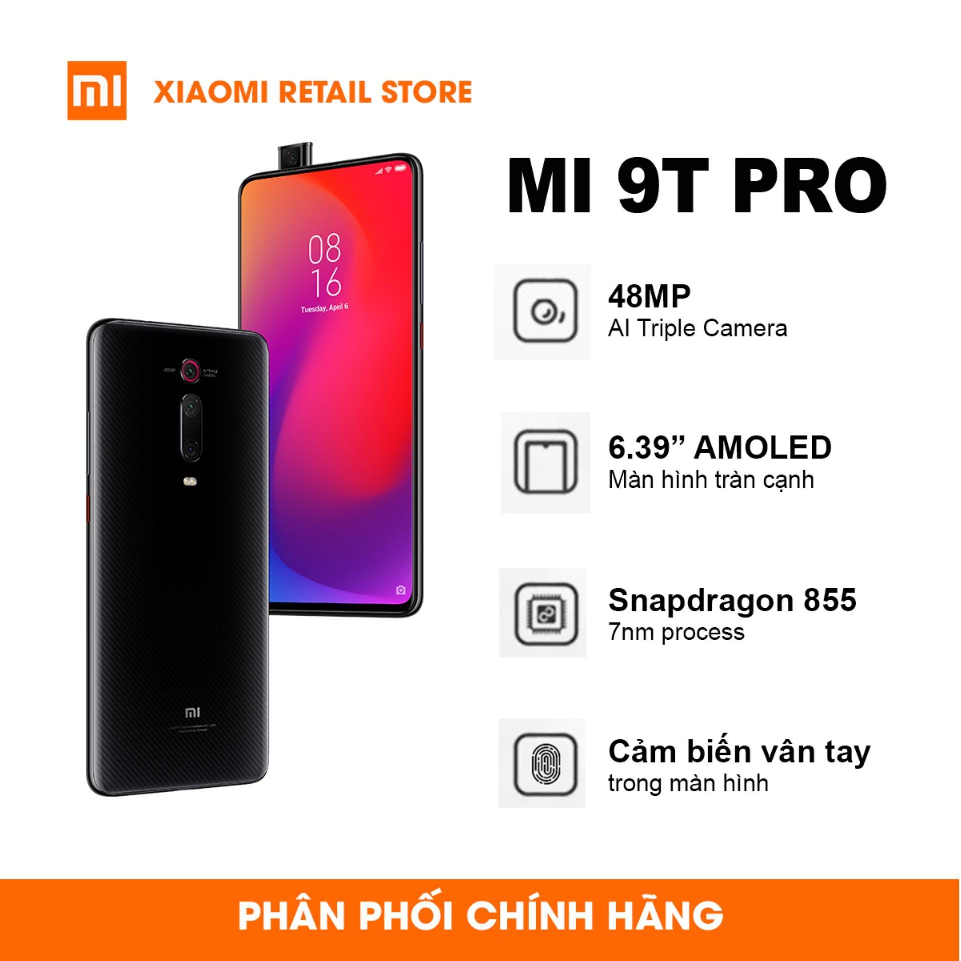 TRẢ GÓP 0% - Điện Thoại Xiaomi Mi 9T Pro (6GB/128GB) - Chip khủng Snapdragon 855 Chơi Game Siêu Mượt, camera 48 Megapixel AI sắc nét, Sạc nhanh siêu đẳng