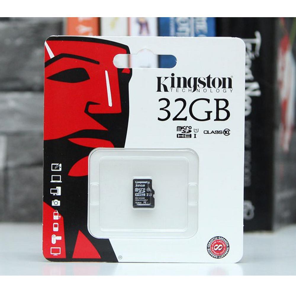 Thẻ Nhớ Micro SD Kingston 32Gb Class10 - Bảo Hành FPT