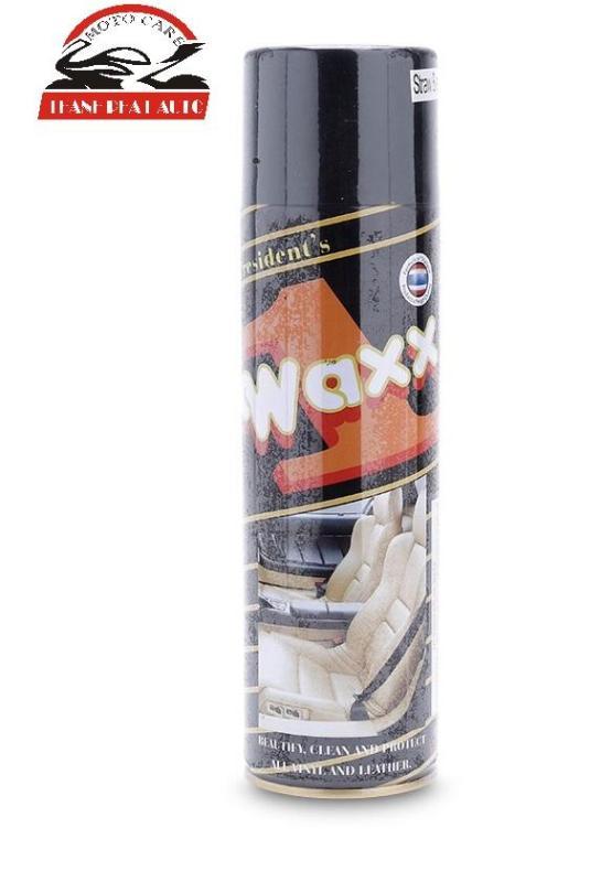 Chai xịt đánh bóng da, đồ gỗ, đồ nhựa Waxx 1 500ml