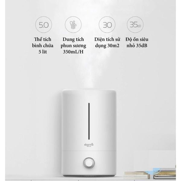 Máy Phun Sương xông tinh dầu Xiao  mi Deerma F628 – Máy Tạo Độ Ẩm Diệt Khuẩn bằng tia UV có hẹn giờ | Xông tinh dầu cao cấp | Shop CÔNG NGHỆ SỐ