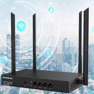 Bộ Phát Wifi Không lag - Bộ Router Tendaa - Bộ Phát WIFI Tendaa W15e Ac1200mps Mạng Doanh Nghiệp 50 User hàng nhập khẩu.Bảo hành 1 đổi 1 bơi MAYSTORE thumbnail