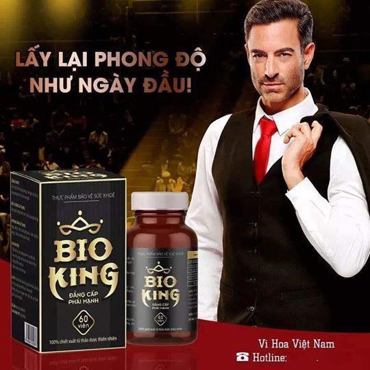 Bioking-Biolab-Tăng cường sinh lý Nam - Đẳng Cấp Phái Mạnh-VaVo Shop nhập khẩu