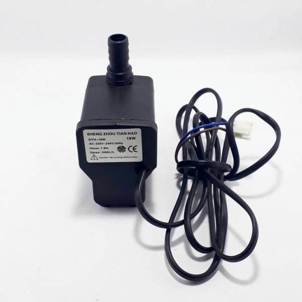 Máy bơm ngập nước dùng cho quạt điều hòa hơi nước, bể cá, non bộ, chế đồ DIY 18W DYH loại hút ngang