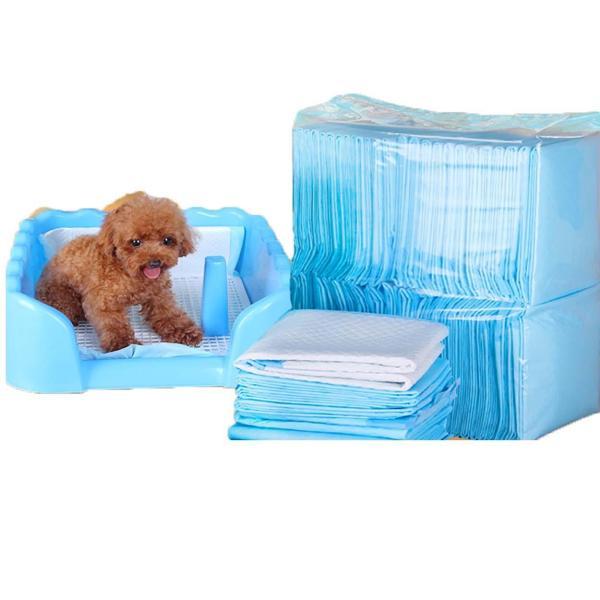 HCM- (1 bịch) Miếng tã lót khay vệ sinh chó / tã lót chuồng chó / giấy lót chuồng chó mèo / tã giấy lót chuồng chó, lót sàn xe/ giấy vệ sinh chuột hamster / bỉm chó mèo / bỉm miếng lót chó / giấy thấm hút cho thú cưng