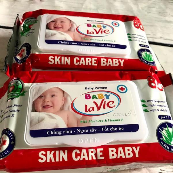 Combo 4 bịt khăn giấy ướt Lavie Baby 80gr -...