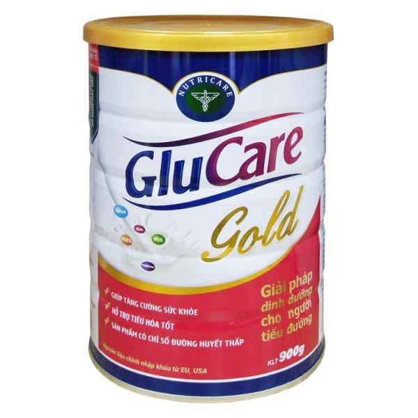 Sữa bột Nutricare Glucare Gold - dinh dưỡng y học cho người tiểu đường (900g) nhập khẩu