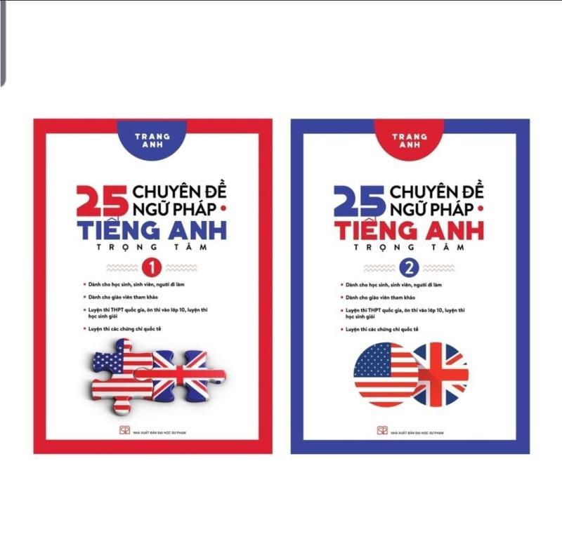 Mua Sách - Combo 25 Chuyên Đề Ngữ Pháp Tiếng Anh Trọng Tâm Tập 1 và Tập 2 - Cô Trang Anh