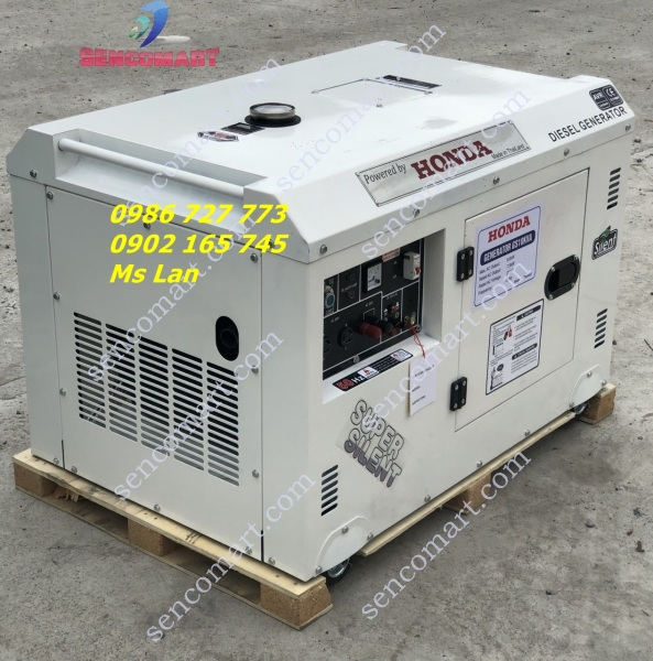 Máy phát điện Honda GS10KVA Thái Lan chi.nh hãng xuất xứ Thái Lan
