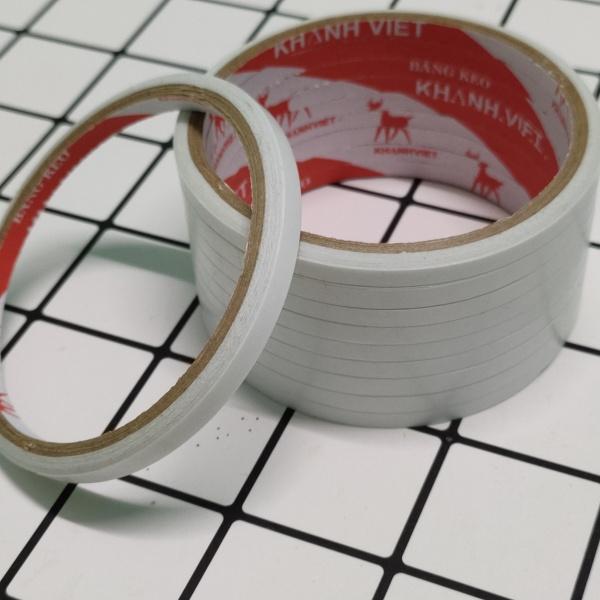 Mua Combo 10 cuộn băng keo hai mặt 5mm