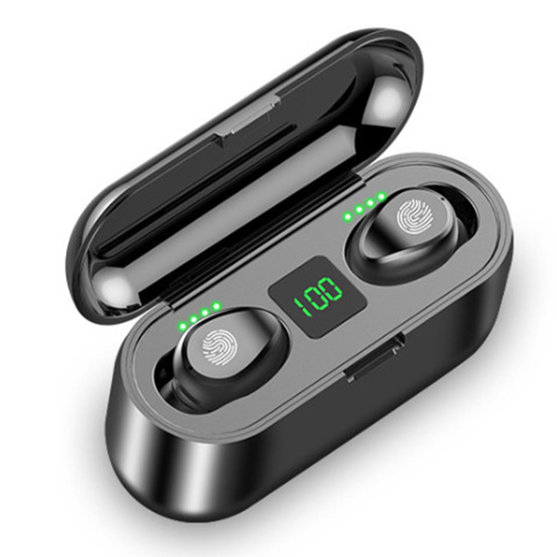 Tai nghe Bluetooth, tai nghe không dây, tai nghe, tai nghe bluetooth khong day F9 Pro chất lượng âm thanh HD dùng cho iphone, samsung, xiaome, sony, oppo, vivo, pin trâu, giá rẻ