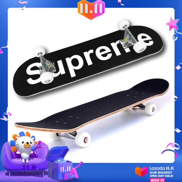 Phân phối [TIÊU CHUẨN THI ĐẤU] Ván trượt người lớn skateboard supreme