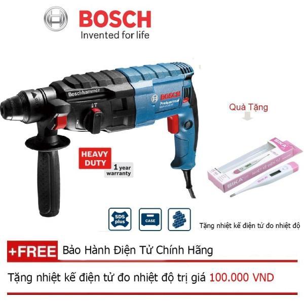 Máy khoan búa Bosch GBH 2-24 RE + Quà tặng nhiệt kế điện tử