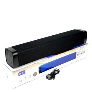 Loa Bluetooth Không Dây GUTEK IK-22 nghe nhạc siêu bass hỗ trợ usb và thẻ nhớ, Âm Thanh Đỉnh Cao thumbnail