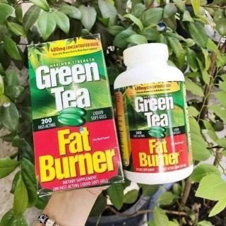 Viên Uống Giảm Mỡ Trà Xanh Green Tea Fat Burner 400mg Chính Hãng USA Mỹ thumbnail