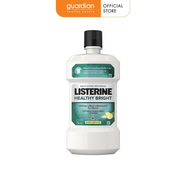 Nước súc miệng làm trắng răng Listerine Healthy Bright 750ML