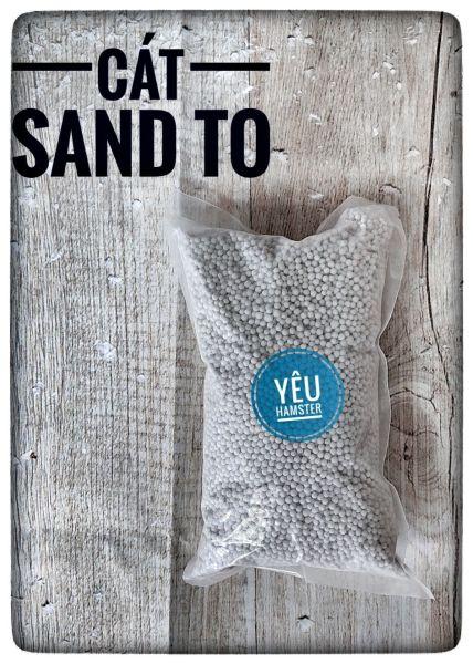 Thơm- Cát sand to lót chuồng cho Hamster (1kg)