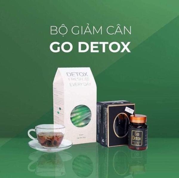 [Chính hãng] Trà giảm cân Godetox - Giải pháp giảm cân an toàn nhất hiện nay cao cấp