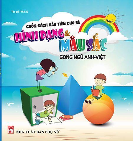 Mua Song ngữ Anh Việt- Cuốn sách đầu tiên cho bé chủ đề hình dạng và màu sắc