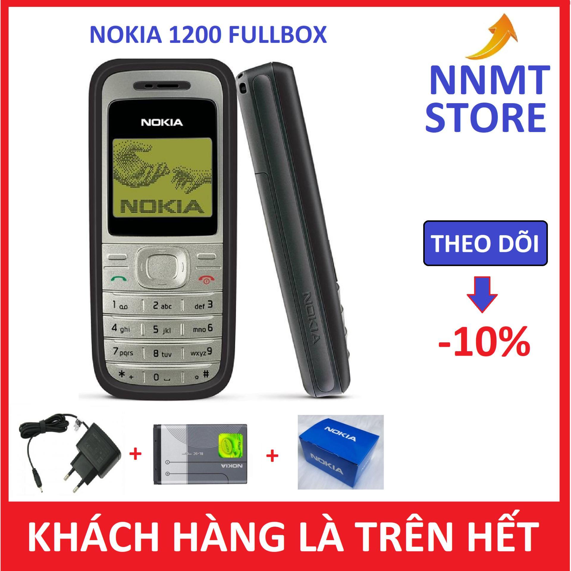 Điện thoại Nokia 1200 - Fullbox - Bảo hành 12 tháng - NNMT Store