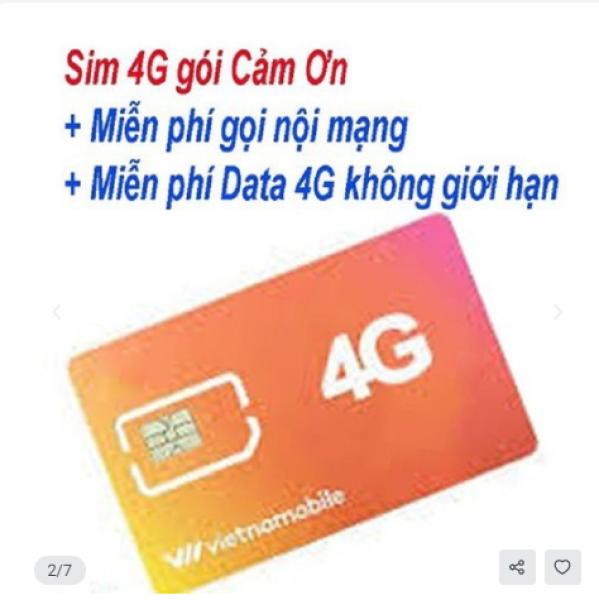 Bảng giá Sim Vietnamobile - Sim Vietnamobile MIỄN PHÍ 1 THÁNG K NẠP TIỀN Phong Vũ