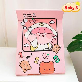 Gương để bàn gấp gọn tiện lợi đủ họa tiết đáng yêu cho các cô nàng thích điệu mang theo bên mình Baby-S SI016 thumbnail