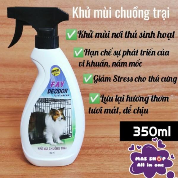 Xịt Khử Mùi Chuồng Trại Fay 350ml