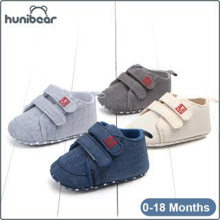 Baby Bé Trai Giày Mùa Xuân Mùa Thu Giày Thường Bông Non-Slip Toddler Giày 0-18 Tháng