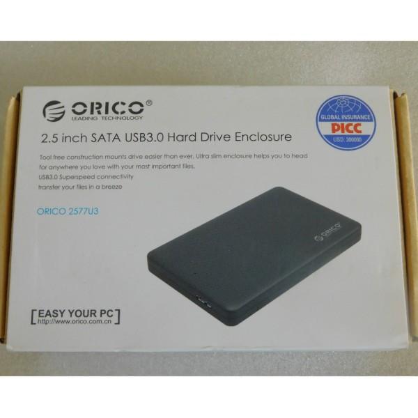 Bảng giá Hộp đựng ổ cứng orico hdd box sata 3 usb 30 - 2577us3 ( orico) sản phẩm tốt chất lượng cao cam kết như hình độ bền cao Phong Vũ