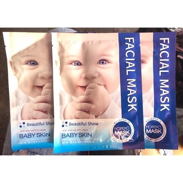 Combo 10 miếng mặt nạ Baby Skin Rorec. tốt nhất