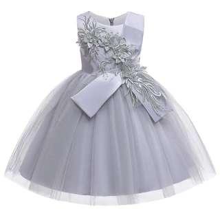 Váy Bé Gái Hoa MQATZ Váy Dạ Hội Sinh Nhật Váy Trẻ Em, Váy Công Chúa Quần Áo Bé Gái Đầm Dạ Tiệc Cưới, 3-10 Năm L5150