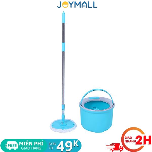 Bộ cây lau nhà xoay tay Lock&Lock Corner ETM494 -Hàng chính hãng ,đĩa lau gập lại được - JoyMall