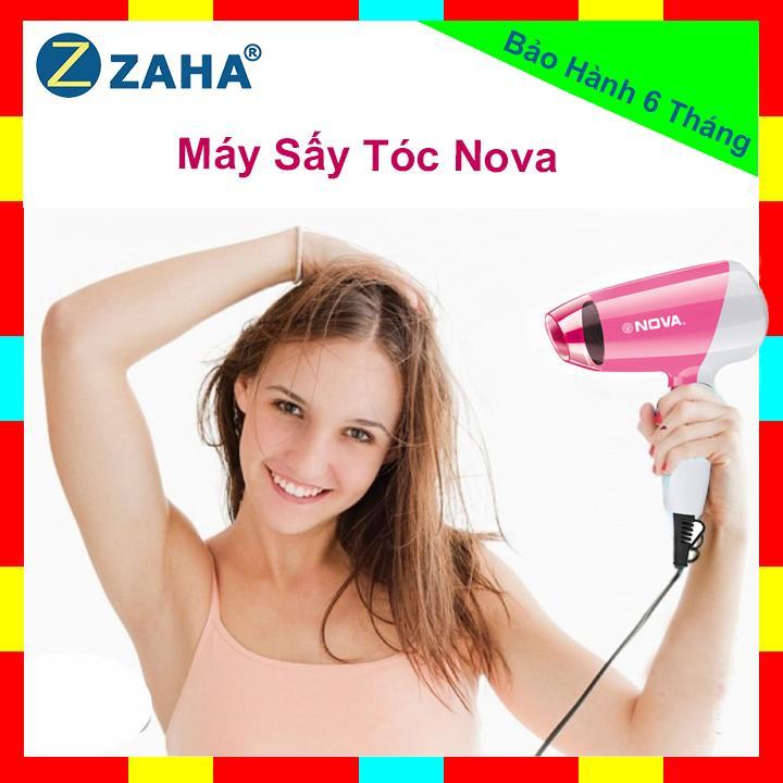 Máy sấy tóc Nova 7366 mini 1000w Du lịch gấp gọn tiện lợi