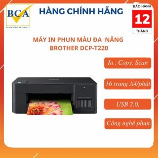 Máy in phun màu đa năng Brother DCP-T220 ( In, Copy, Scan) thumbnail