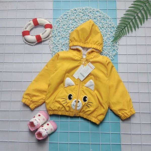 Giá bán ?? quần áo trẻ em ?? Áo khoác thỏ lót lông SIÊU NGỘ NGHĨNH cho bé - Full size 7-32 kg