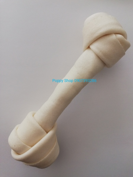 Khúc Xương Da Bò Vị Sữa Cho Chó Cưng Gặm Size 17 cm và 12 cm