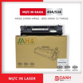 Hộp mực in SAHA 49A 53A ( Có CHIP ) Dùng cho HP Laser 1160, 1320 P2014, P2015 - Bảo hành 12 tháng ( FULL BOX) Mực máy in Laser thumbnail