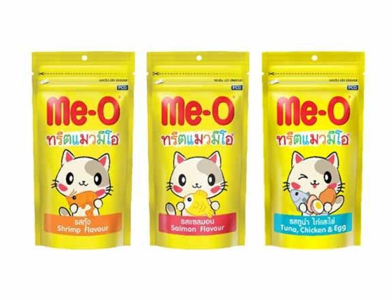 Bánh thưởng cho mèo Me-O gói 50g Thái Lan