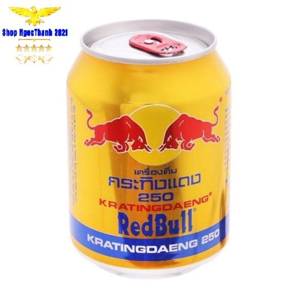 x1 Lon Redbull Thái Lan 250ml (Date mới)