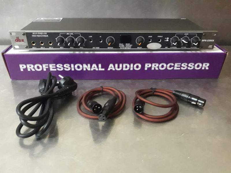 Vang Cơ karaoke Cao Cấp DBX 228 SX Cho Âm Thanh Chất Lượng Tặng Cặp kết Nối Canon